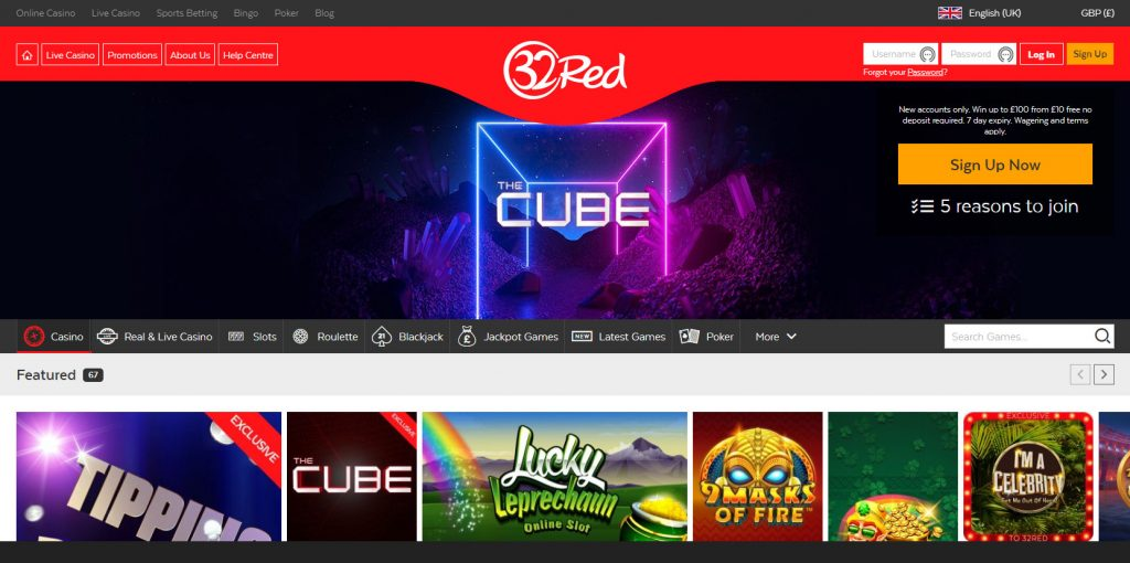 32Red Casino Review 2020